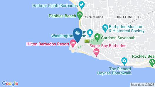 Hilton Barbados Resort Map