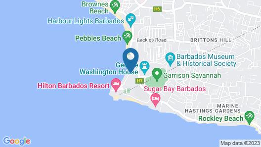 Radisson Aquatica Resort Barbados Map