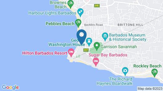 Island Inn All Inclusive Hotel Map