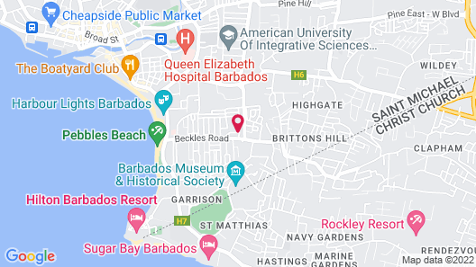 Believe Caribbean Apartments Map