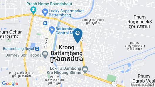 Sok San Villa Map