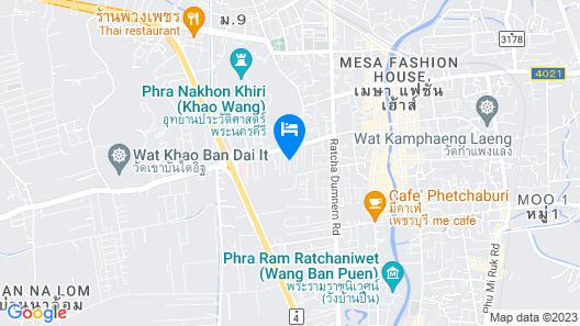 Thanyachatra Boutique Map