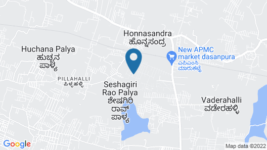 Kanva Star Resorts Map