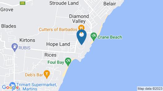 Hilton Grand Vacations at The Crane Map