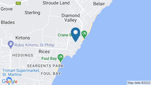 The Crane Resort Map