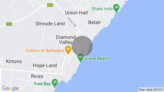 Your Relaxing Tropical Getaway Near Crane Resort Map