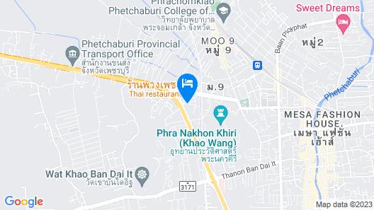 Royal Diamond Hotel Map