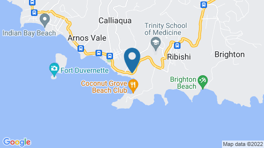 Blue Lagoon Hotel & Marina Map