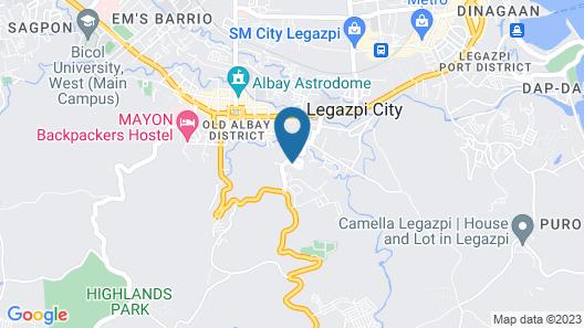The Oriental Legazpi Map