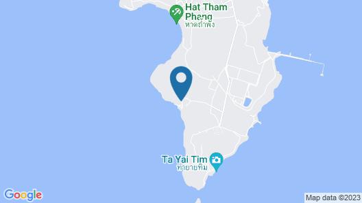 Paree Hut Resort Koh Sichang Map