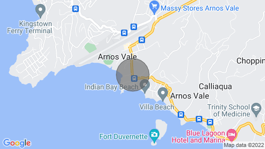 Cosy Villa Near Beach Front, Jacuzzi Decked, Wifi, Air-conditioned Map