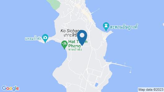Rimtalay Resort Koh-sichang Map