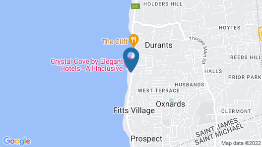 Crystal Cove by Elegant Hotels All Inclusive Resort Map