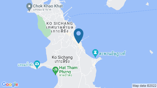 OYO 922 Thammachart  Resort Kaosrichang Map