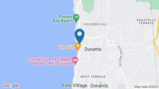 Coral Lane Beach Apartments Map