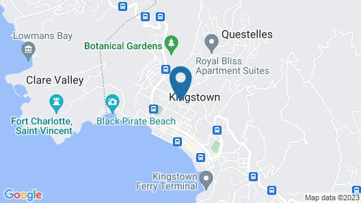 Grenadine House Map