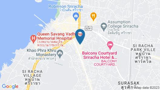 Racha Residence Sri Racha Map