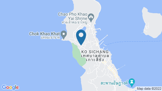 Sichang Shine Khao Resort Map