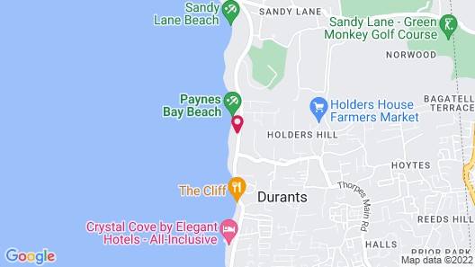 Treasure Beach by Elegant Hotels - All-Inclusive, Adults Only Map