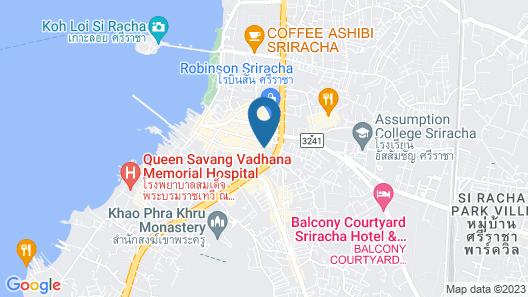 Citadines Grand Central Sri Racha Map