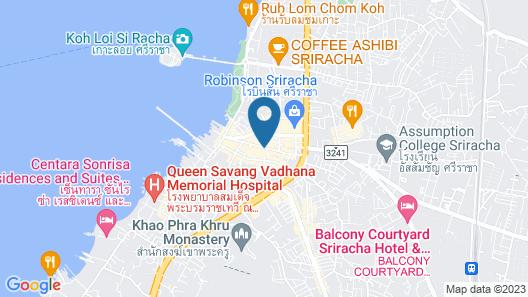 Madera Residence Siracha Map