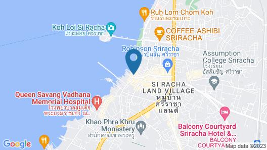 Seaview Hotel Sriracha Map