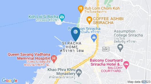 The Loft Seaside Sriracha Map