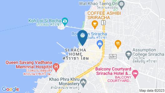 Oakwood Hotel and Residence SriRacha Map