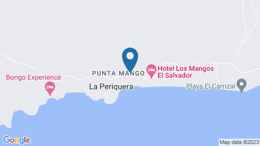 Hotel Los Mangos Map
