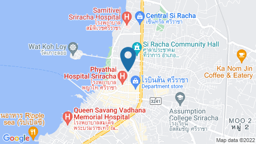 Kantary Bay Hotel And Serviced Apartments Map