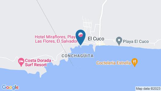HOTEL RANCHO INFINITO Map