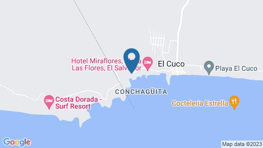 Las Flores Resort Map