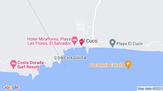 Vista Las Olas Surf Resort Map