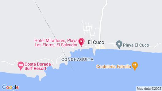 Hotel Miraflores Map