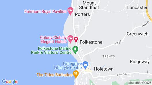 Colony Club by Elegant Hotels Map