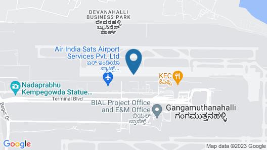 Airport Residency Bangalore Map