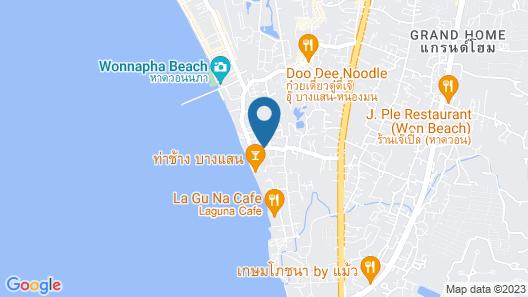 Rooms @Won Beach Map