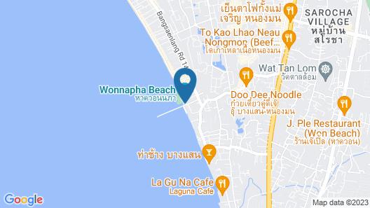 BBG Seaside Luxurious Service Apartment Map