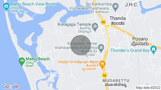 Spacious 3 BHK Villa- 2 Kms From Serene Beaches Map