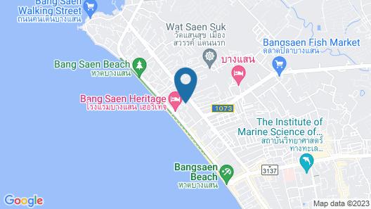 Bangsaen Heritage Hotel Map