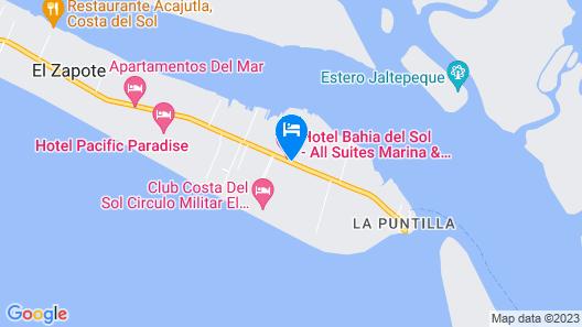 Hotel Bahia Del Sol Map
