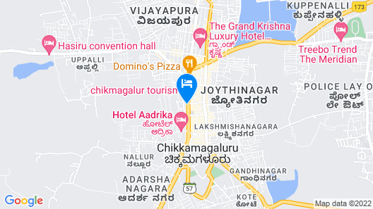 Royal Palace & Rajabhojana Veg Fineone Map