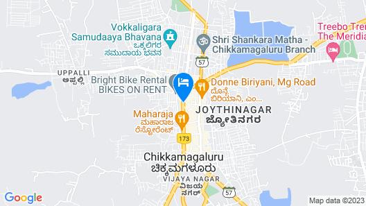 OYO 9918 Sri Venkatesha Residency Map