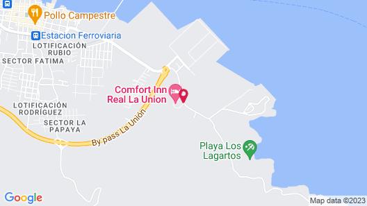 Comfort Inn Real La Union Map