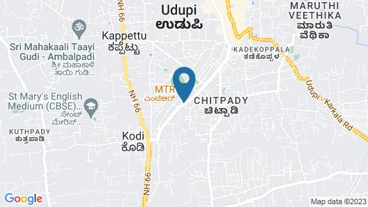 Samanvay Boutique Hotel Udupi Map