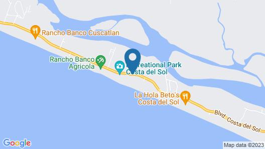 Izalco Hotel & Beach Resort Map