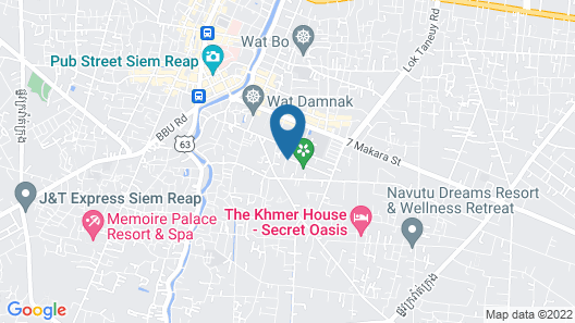 Mane Boutique Hotel & Spa Map
