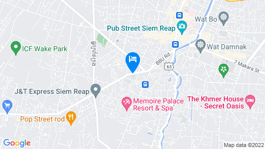 Pool Party Hostel Map