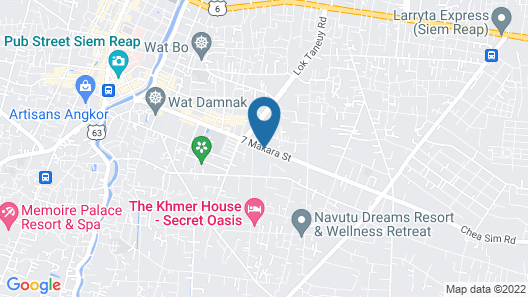 Lub d Cambodia Siem Reap Map