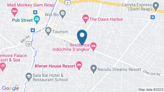G&Z Plan B Hostel Map